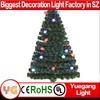 Outdoor Christmas Decoration led christmas cone tree decorative light/large giant trees for Xmas