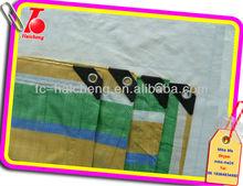 high quality waterproof pe colored tarpaulin,PE tarps with stripes,checked pe tarpaulin