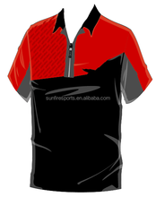 100%polyester your brand custom sublimation sport polo shirt