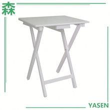 Yasen Houseware Portable Eating Table,Small Portable Folding Table,Portable Wood Table