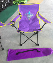 Beautiful updated folding chair with backrest