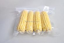 vacuum sealing zip lock plastic bags for corn