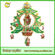 2015 New Arrival Popular paper christmas hanging decoration