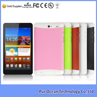 Android tablet with 1024*768 IPS screen, hot MTK8382 7 inch 3g callling tablet pc