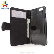 good quality blank sublimation leather phone case for I phone 6