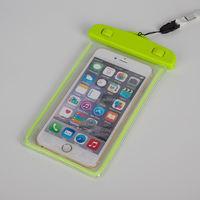 New arrival luminous mobile phone pvc waterproof bag for All 4-5inch screen phones