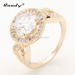Newest Design 3 Gram Gold Ring With Big Stone,Fashion Big Gold Engagement Ring