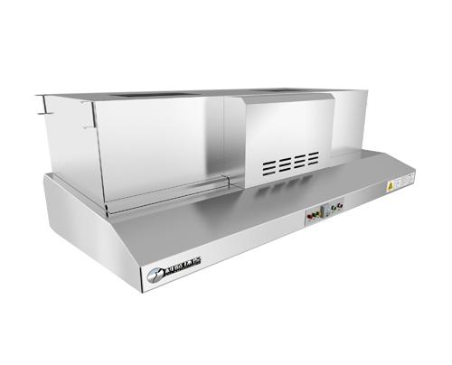 Commercial Kitchen Exhaust Hood Details ~ Stainless steel commercial kitchen exhaust hood buy
