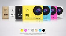 WiFi SJ4000 W8 12MP 170 Degree Full HD 1080P Digital Waterproof Helmet Sport DV Action Camera