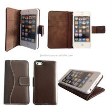 Smartphone case cover for iphone 5 genuine leather mobile phone bag case for iphon5/5s