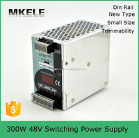 LP-300-48 48v ac-dc 300w railway single output switching power supply manufacturer