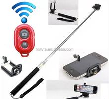 bluetooth selfie stick,selfie stick extendable hand held monopod bluetooth,factory direct selling