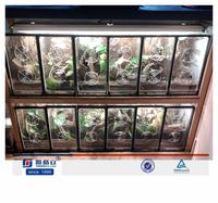 High quality Clear acrylic tarantula/small animal display box/case