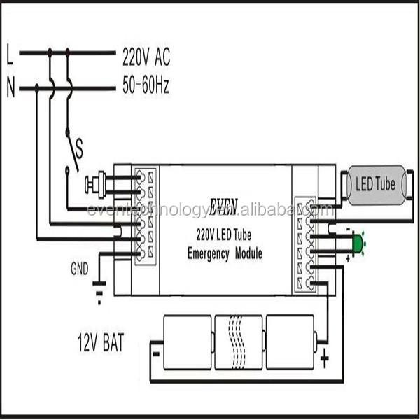 led panel emergency kit  led lighting emergency power unit for 36w led panel