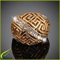 Anillo de dedo del oro anillos de diseño para mujeres con precio