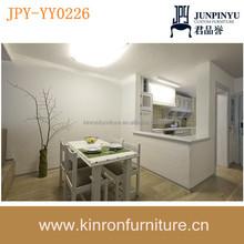 Best sala de jantar móveis de madeira maciça conjuntos de sala de jantar moderna