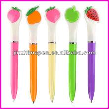 Hot sale twist fruit shaped ballpoint pen