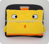 Newest arrival cute design high quality cartoon laptop stands for beds