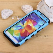 Hybrid Mobile Phone Shockproof Case for Samsung Galaxy S5 Cell Phone Case