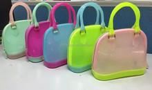 Korean Lady Leather Handbag Shoulder Bag Women Beach Handbag