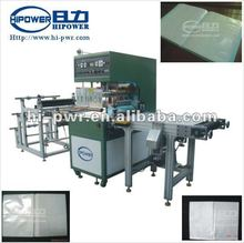 Automatic PVC book cover,inner page, soft crease box high frequency welding machine