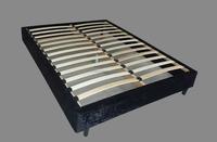 Knocked down imported pine wood bedbase slat base