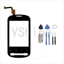 Large stock in shop low price touch replacement for LG P350 touch screen digitizer