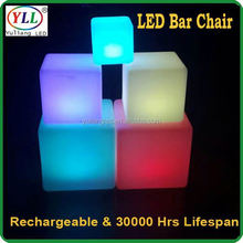 square plastic led light stand 16 color changing led cube small led plastic cubes small led plastic cubes