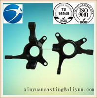 customized service steel foundry steering knuckle for auto parts 022