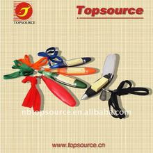 TT716 ballpen with lanyard+ sticker notes/promotional pen