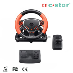 2015 Vibration racing car Game Steering Wheel for ps3 ps2