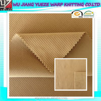 high quality 100% polyester warp Corduroy Fabric for garment