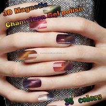 #20936-Cat Eye Chameleon Gel Polish, Temperature changing Gel polish Soak off UV/LED Color Gel, Magnetic Nail Art Gel Varnish