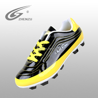 Low wholesale price children soccer shoes for kids football shoes