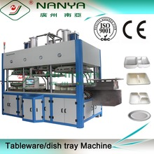 tableware tray pulp molding production line / biodegradable tableware machinery