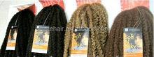 Stefull hair good quality janapanese fiber marley braiding hair bulk