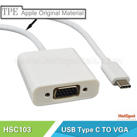 USB Type C USB 3.1 Male to Gigabit Ethernet Network LAN Adapter for Mac Book usb male to vga female converter cable