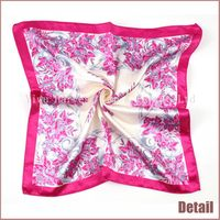 Super quality professional silk scarves for crafts