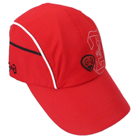 latest cotton twill red sports caps manufacturer
