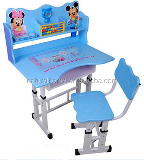 Height adjustable ikea kids table and chair set children for Study table and chair ikea