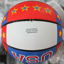 colorful rubber exercises basketball
