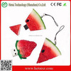 rubber fruit shape watermelon usb flash drive, watermelon usb 256gb, watermelon usb 1tb