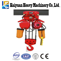 0.5t to 32t chain electric block high quality cargo carry equipment