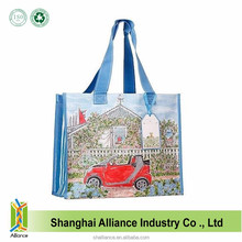 Laminated Manufacturers Bopp Reusable Tote Shopping Eco PP Woven Bag