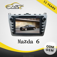 SPECIAL AUTO DVD SYSTEM Win CE 6.0 for mazda 6 touch screen dvd player car gps navigation system with backup camera with canbus
