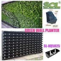 Artificial living wall flower wall planter
