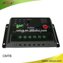lighting and timing control solar charge controller with digital tube power trace 10A-30A 12/24V