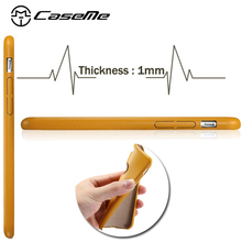 Famous Brand CaseMe ultra thin leather cell phone case for iphone 6 soft leather back case for iphone 6 4.7""