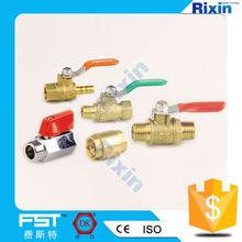 RX-1164 ball valve dn20 copper ball valves gas ball valve