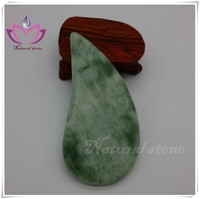 remove diseases jade stone GuaSha Plate Scraping Chinese gua sha board